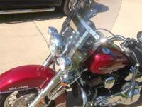 2006 Harley Davidson FLSTC Heritage Softail Classic.