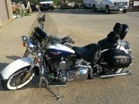 2006 Harley Davidson FLSTN Softail Deluxe . 7.050 miles