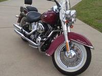 2006 Harley Davidson FLSTNI Softtail Deluxe. This