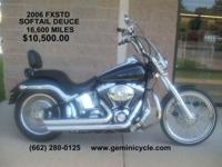 This Beautiful Black with Silver Pinstripe 2006 Softail