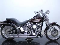 2006 FXSTSI Springer Softail In the saddle of a