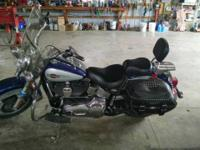 2006 Harley Davidson Heritage Softail with extras $9200