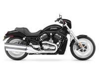 Low-rise bars. Straight-shot mufflers. All VRSC bikes