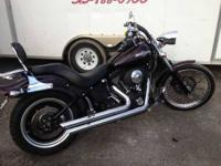 2006 Harley Davidson Night Train Maroon 23417 Miles