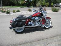 2006 Harley Davidson Road King Classic FLHRCI, 1550