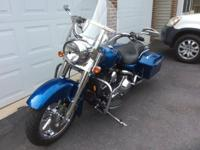 2006 Harley Davidson Road King Custom 1450cc with only