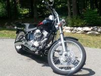 2006 Harley Davidson Softail FXSTI. Bike is in