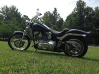 Garage kept 2006 Harley Davidson softail with 200mm