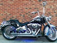 2006 Harley Deluxe Softail. 6723 miles, Mammoth