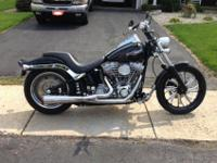 06 Softail. Has tons of extras. Just had 20k service,
