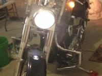 Beautiful 2006 Harley Davidson Fatboy Peace Officer