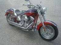 2006 Harley Davidson Screamin Eagle Fat Boy with only