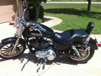 2006 Sportster 1200 Low with 28k miles. Outstanding