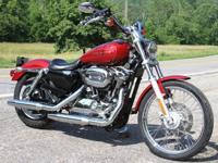 2006 Harley Davidson Sportster 1200 Custom - This