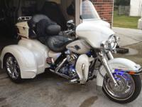 2006 Harley Davidson Ultra Classic Trike. 31000 miles.