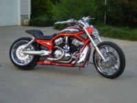 2006 Harley Davidson in Excellent Condition- - Orange