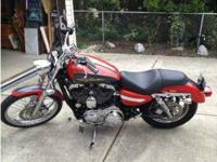 2006 Harley Davidson in Excellent Condition Red