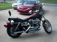 2006 Harley Davidson XL 1200C Sportster Custom- - 2006
