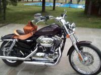 2006 Harley Davidson Sportster 1200 CUSTOM- - VERY