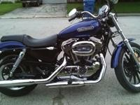 2006 Harley Davidson XLH Sportster 1200 Low. This bike