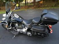 2006 Harley Davidson Heritage Softail (Peace Officer