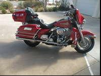 I'm listing a 2006 Harley firefighter ultra for a