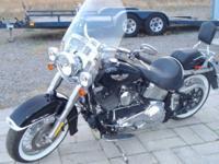2006 Harley Davidson FLSTNI Softail Deluxe, fuel