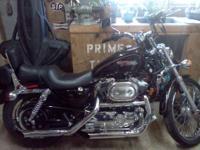 2006 Harley Sportster 883, black, 8,000 mi., original