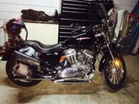 Black 883XL, we were the second owner, both owners were