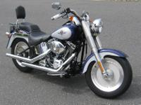 Make: Harley Davidson Model: I Fat Boy Mileage: 6,040