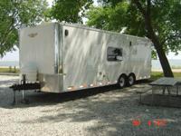 2006 Haulmark HH24 Enclosed Trailer. 26 FT. toy hauler
