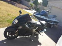 I HAVE A ONE OF A KIND 2006 SUZUKI HAYABUSA COATED IN