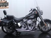 2006 HD FLSTFI Fat Boy. In the saddle of a