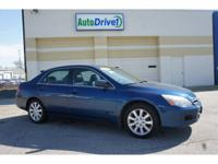 Exterior Color: blue, Body: EX V-6 4dr Sedan, Engine:
