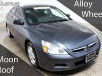 Accord EX-L, 2006 Honda Accord EX-L, and K-Certified (