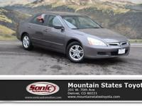Check out this 2006 Honda Accord Sdn EX. Its Automatic