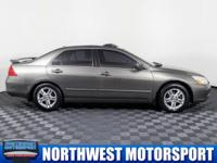 Two Owner Sedan with Sunroof!  Options:  Rear