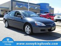 Delivers 34 Highway MPG and 24 City MPG! This Honda