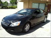 I HAVE A 2006 HONDA ACCORD COUPE IN EXCELLENT