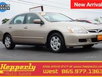 Clean CARFAX. CARFAX One-Owner. This 2006 Honda Accord