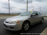 CARFAX Certified only 2-owner 2006 Honda Accord LX SE