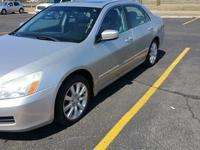 06 Honda Accord EX, Leather, Moonroof, Clean Carfax!