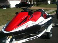 2006 Honda Acquatrax Turbo Three seater. The ski just