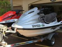 2006 HONDA IS A 4 CYLINDER 1200 CC TURBO 3 SEATER WITH