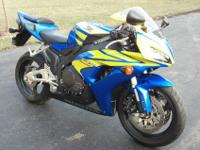 2006 Honda CBR 1000RR with only 357 miles. It has