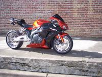 For sale is a 2006 cbr 1000rr. This bike is great!
