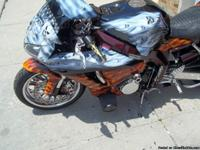 2006 Honda CBR1000RR BEAUTIFUL CUSTOM SKULL PAINT JOB