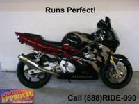 2006 Honda CBR600 RR - Sport Bike for sale. All stock,