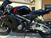 2006 honda cbr 600rr for sale. Has clean title and