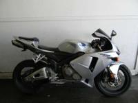 2006 Honda CBR600RR (CBR600RR) SILVER ONLY 12325 MILES